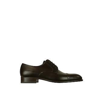 Fratelli Rossetti men 2158288322M brown leather lace-up shoes