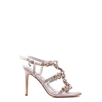 Sam Edelman women's MCBI266003O silver leather sandals