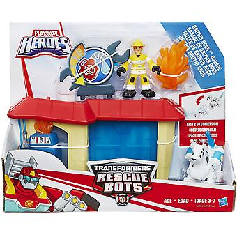 Playskool Helden Transformatoren Rettung Bots Griffin Rock Garage
