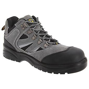 Grafters Mens Industrial Safety Hiking Boots