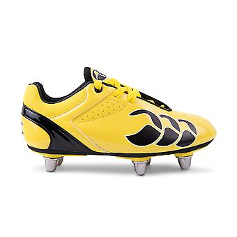CCC phoenix club 6 stud junior rugby boots [flash yellow/black]