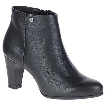 Hush Puppies Morning Meaghan Womens Heeled Zip Up Ankle Boots