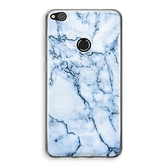 Huawei Ascend P8 Lite (2017) Transparant fall - blå marmor