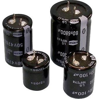 Electrolytic capacitor Snap-in 10 mm 3300 µF 63 V