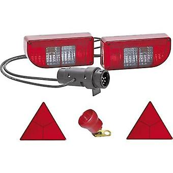 Bulb Trailer lighting set 7/13-pin rear 12 V