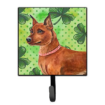 Miniature Pinscher St Patrick's Leash or Key Holder
