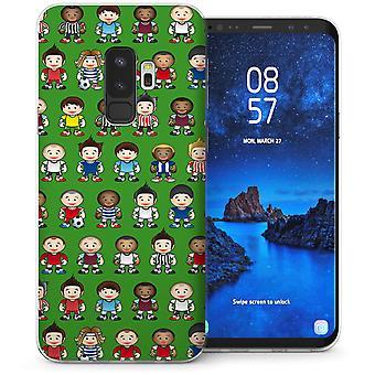 Samsung Galaxy S9 Plus Cartoon voetballers TPU Gel Case-groen