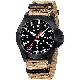 KHS Uhren Herrenuhr Black Platoon LDR KHS.BPLDR.NT