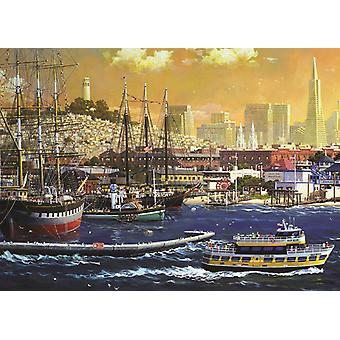 Jumbo San Francisco Bay, USA Premium Jigsaw Puzzle (1000 Pieces)