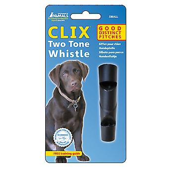 Clix Two Tone Dog Puppy Whistle, Good All-Round Whistle Dog Training