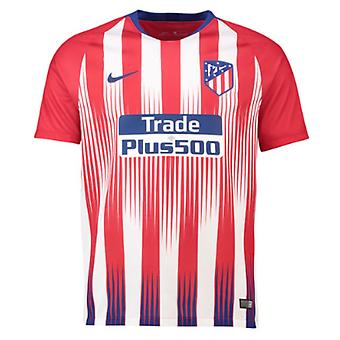 2018-2019 Atletico Madrid Home Nike Football Shirt