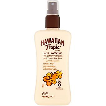 Hawaiian Tropic Ht protector spray sun lotion SPF 8 200 ml