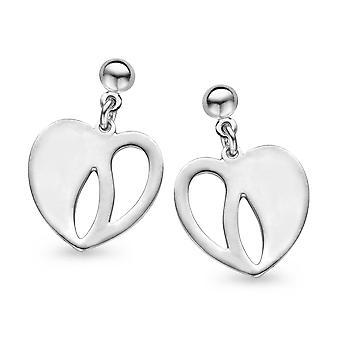 Orphelia plata 925 pendiente corazón ZO-5062