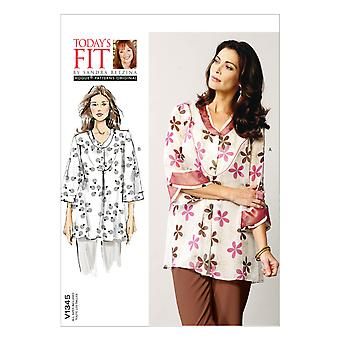 Misses' Shirt-All Sizes in One Envelope -*SEWING PATTERN*