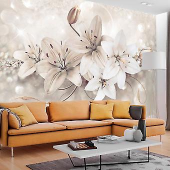 Wallpaper - Diamond Lilies