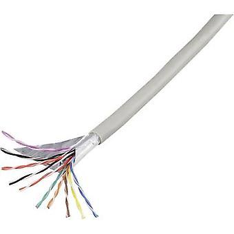 Teléfono cable J-Y (ST) Y 10 x 2 x 0,60 mm gris componentes de Conrad 1226975 25 m