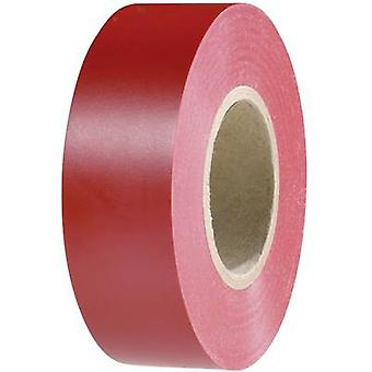 HellermannTyton 710-00152 Electrical tape HelaTape Flex 15 Red (L x W) 20 m x 19 mm 1 Rolls