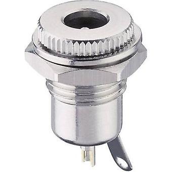 Lumberg 1614 16 Low power connector Socket, vertical vertical 5.6 mm 2 mm 1 pc(s)