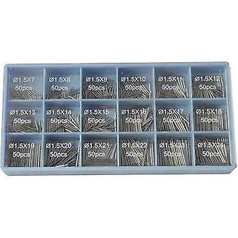 TOOLCRAFT 900-delar Assorted spring bars 900-piece