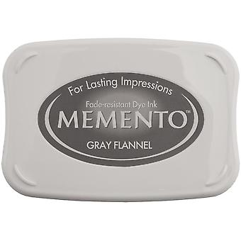 Memento Dye Ink Pad-Gray Flannel