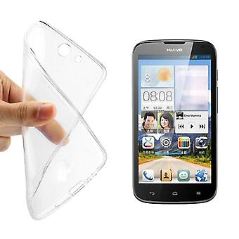 Ultra thin cellphone cover cases TPU for mobile Huawei G610s transparent clear