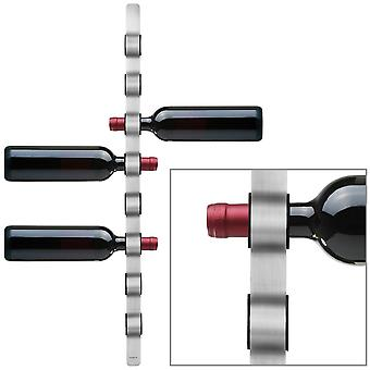 Blomus wine bottle holder wall mount CIOSO stainless steel matte plastic