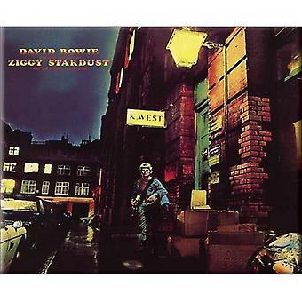 David Bowie Fridge Magnet Ziggy Stardust new Official 76mm x 76mm