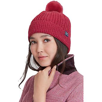 Julios las mujeres trenzas invierno cálido de piel sintética Bobble Hat