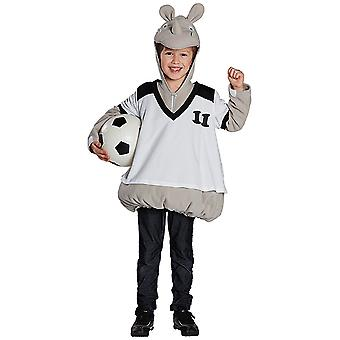 Little Rino Nagarjuna costume in the Jersey for young Hippo rhino
