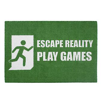 Escape reality floor mat of play games 100% polyamide, with non-slip PVC bottom