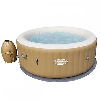 Bestway Lay-Z-Spa Palm Springs AirJet Inflatable Hot Tub Rapid Heating System