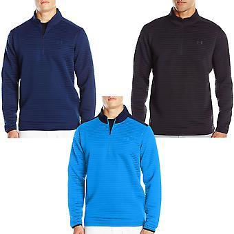 Pod pancerz UA męskie porady Daytona 1/4 Zip długi rękaw Golf sweter sweter Top