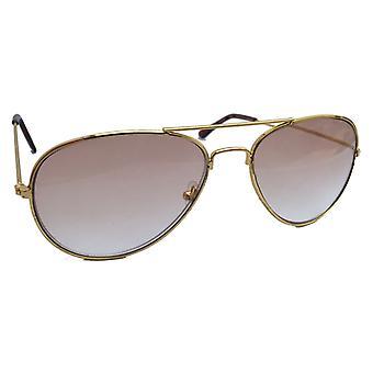 Solen/læsning briller Pilot + 3,00 Duga guld