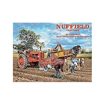 Nuffield Tractors Metal Sign (Og Ls)