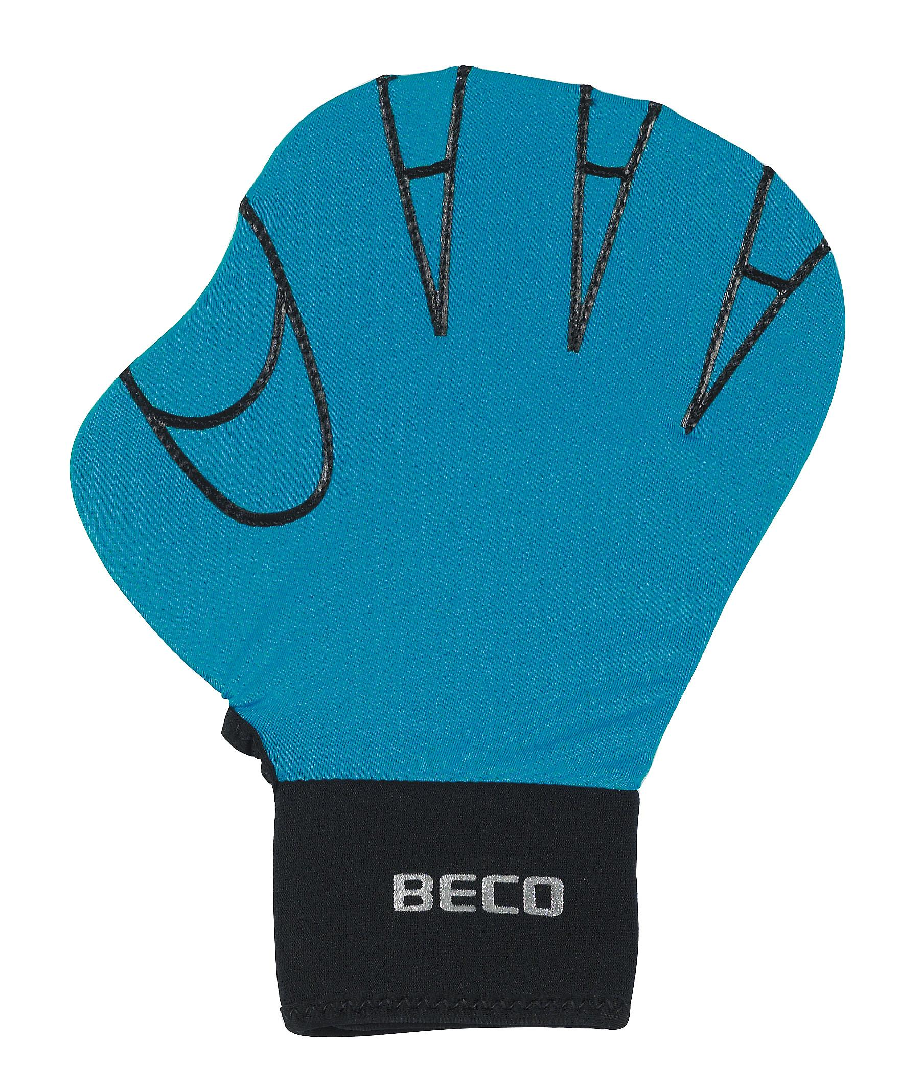 BECO Full Swimming Glove (Small) - Turquoise