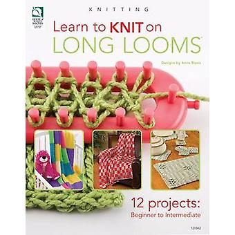 Learn to Knit on Long Looms - 12 Projects - Beginner to Intermediate b