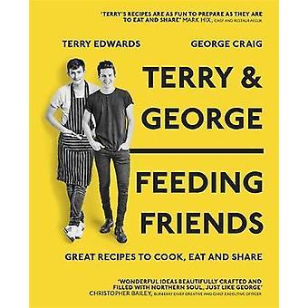 Terry  George  Feeding Friends by Terry Edward