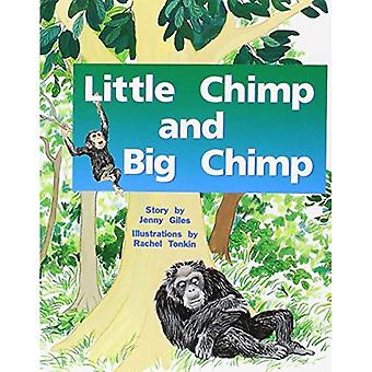 Rigby PM Plus Red: Student Reader (Level 4) Little Chimp and Big Chimp (PMS)