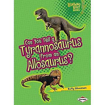 Voitko kertoa Tyrannosaurus Allosaurus?