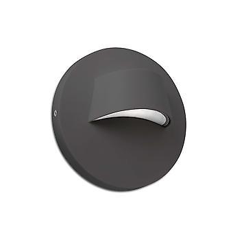 Faro - Brow Dark Grey LED Outdoor Wall Light FARO70409