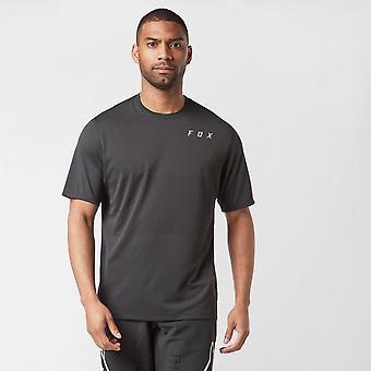 New Fox Men's Ranger Short Sleeve Jersey Black