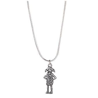 Harry Potter Silver Plated Dobby the Elf Necklace