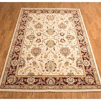 Rugs - Artena ATN01 - Ivory & Red