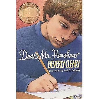 Dear Mr. Henshaw by Beverly Cleary - Paul O. Zelinsky - 9780380709588