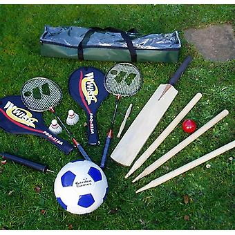 Not Just Cricket Garden Games Set