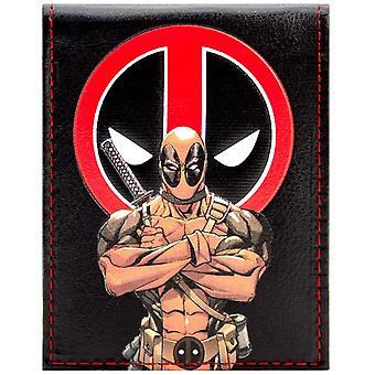 Marvel Deadpool animerede karakter ID & Card Bi-Fold tegnebog