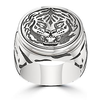 Conor Mcgregor Ufc Conor Mcgregor Tiger Ring In Sterling Silver