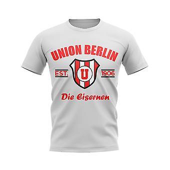 Union Berlin Established Football T-Shirt (White)