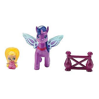 Shimmer And Shine Teenie Genie Pony Pack - Leah And Zahracorn