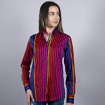 Chemise Claudio Lugli Rainbow Stripe Ladies